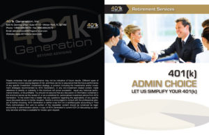 401k Generation - 401k Admin Choice Brochure - Cover