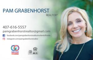 Pam Grabenhorst Realtor Hole Sponsorship Sign
